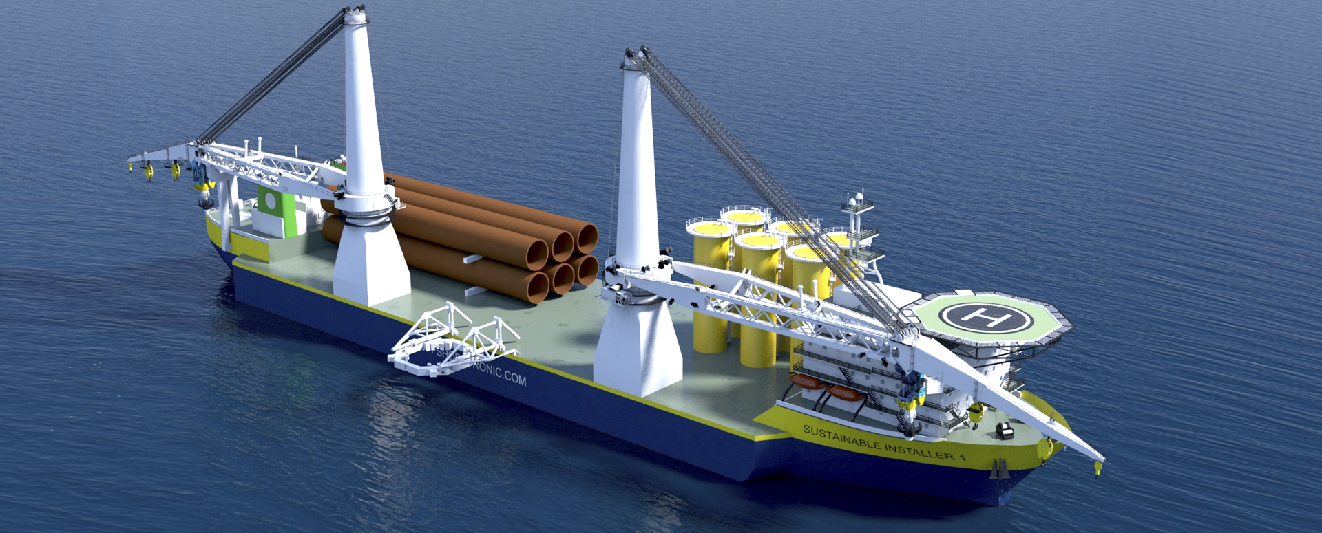 Multi-Purpose Offshore-wind Vessel